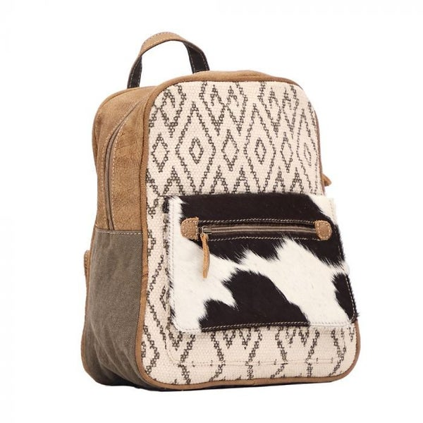 MYRA CHEVRON BACKPACK BAG