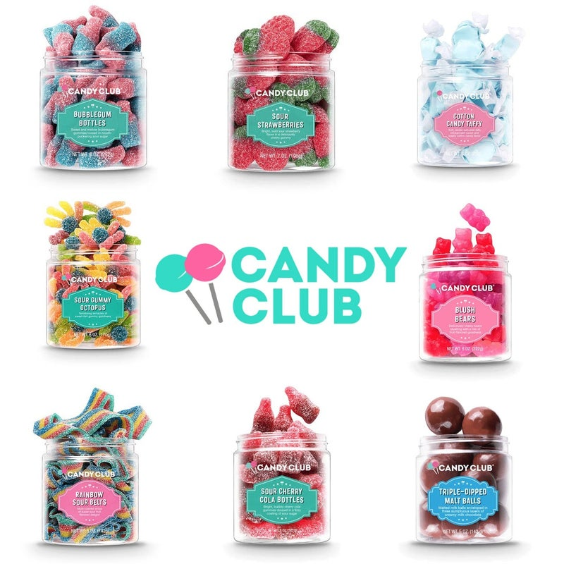 CANDY CLUB SMALL (MULTIPLE OPTIONS)