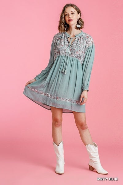 Misty Stitch Dress