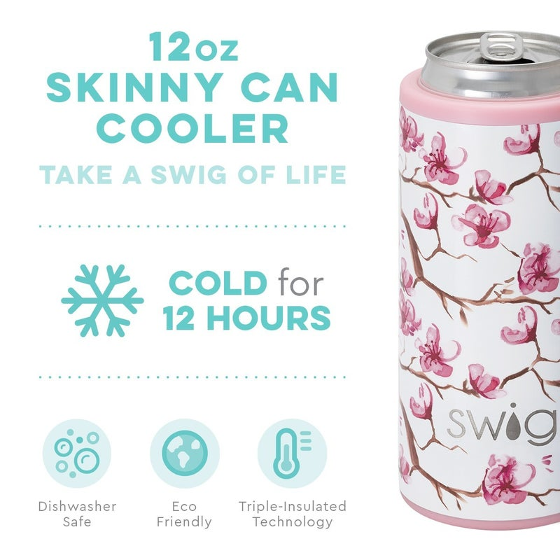 Cherry Blossom Skinny Can Cooler (12oz)