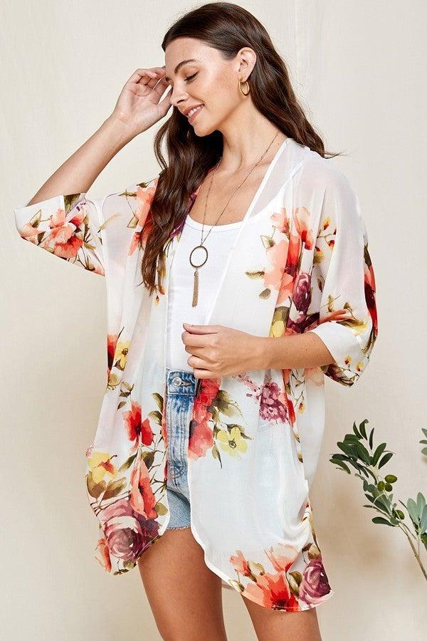 Malibu Babe Kimono