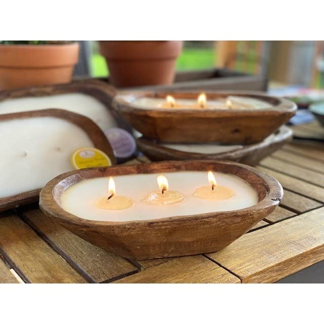 Hand Crafted Scented Candle Bowl