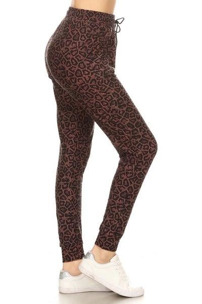 Pink Leopard Jogger
