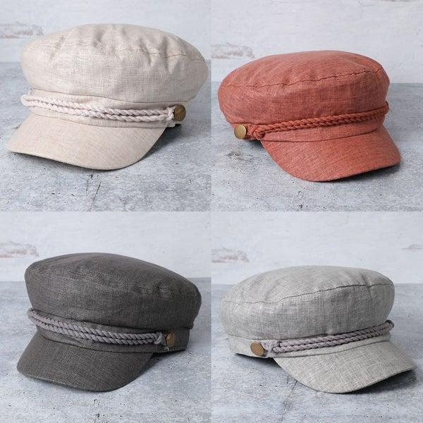 Take Me Sailing Hat (4 COLORS)