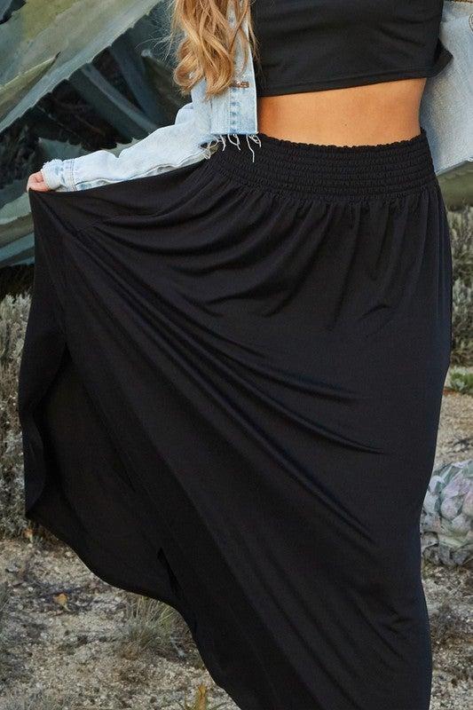 A Little Slit For Ya Skirt