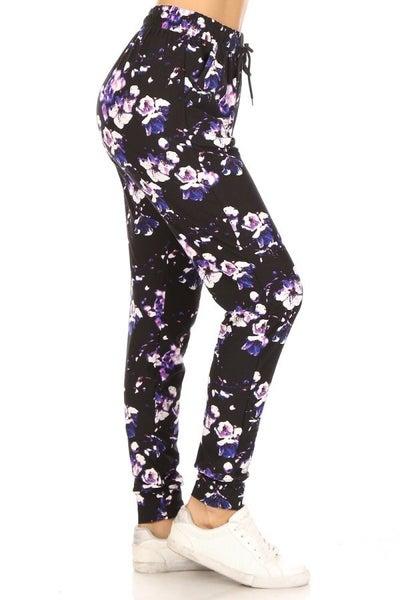 Purple Flower Power Jogger