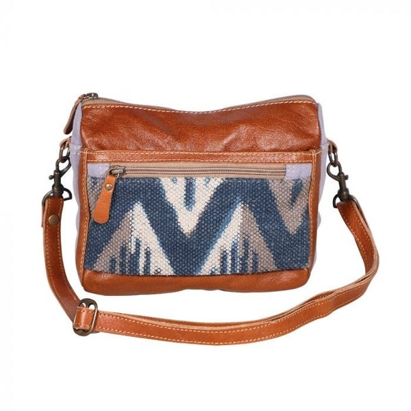 Myra Indigo Charm Crossbody Bag