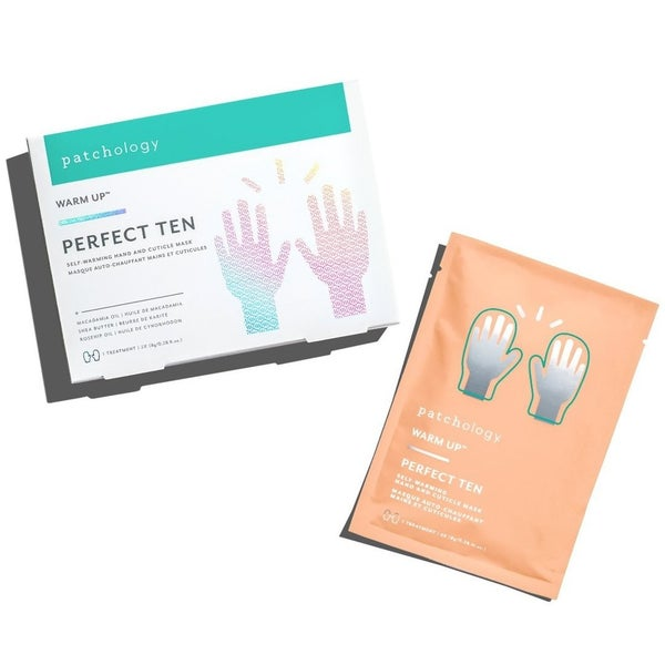 Self-Warming Hand and Cuticle Mask