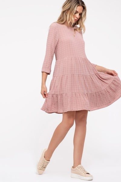 Dusty Honey Dress