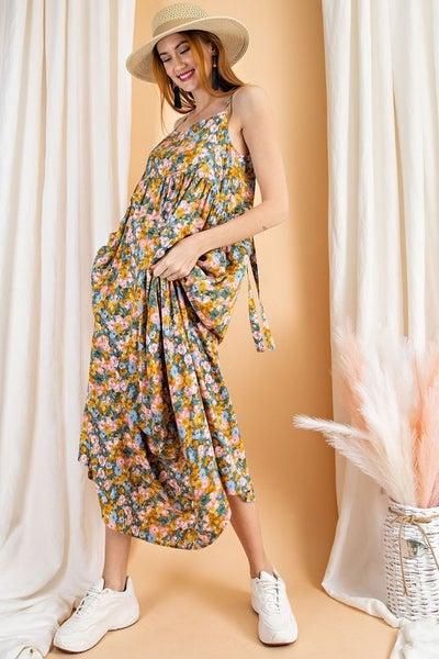 Falling Floral Dress