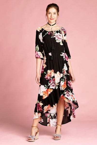 Flow Floral Dress