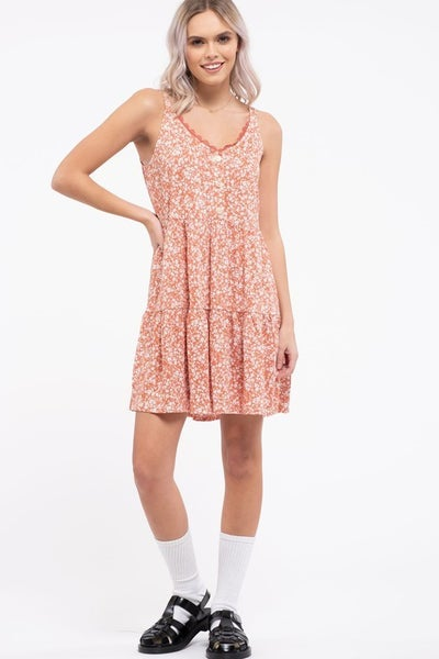 Always Apricot Dress