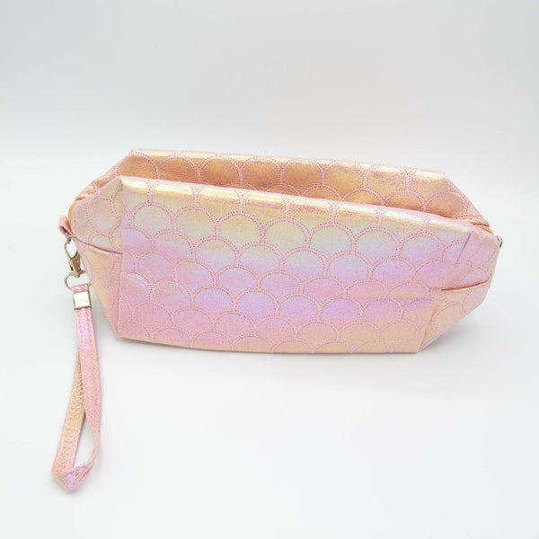 MERMAID SKIN POUCH BAG