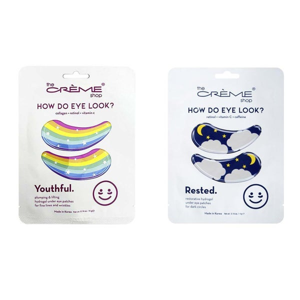 SMOOTHING HYDROGEL EYE PATCHES