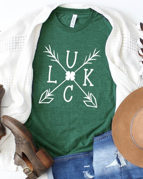 Luck with Arrows Graphic T