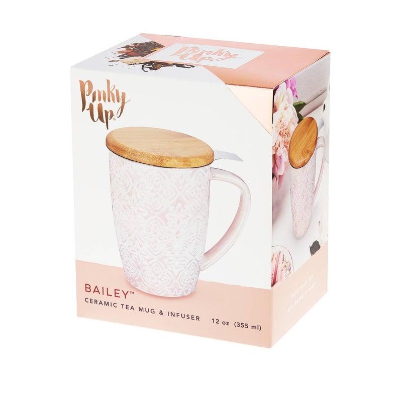 Ceramic Tea Mug & Infuser