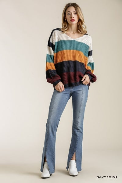 Mix It On Up Sweater