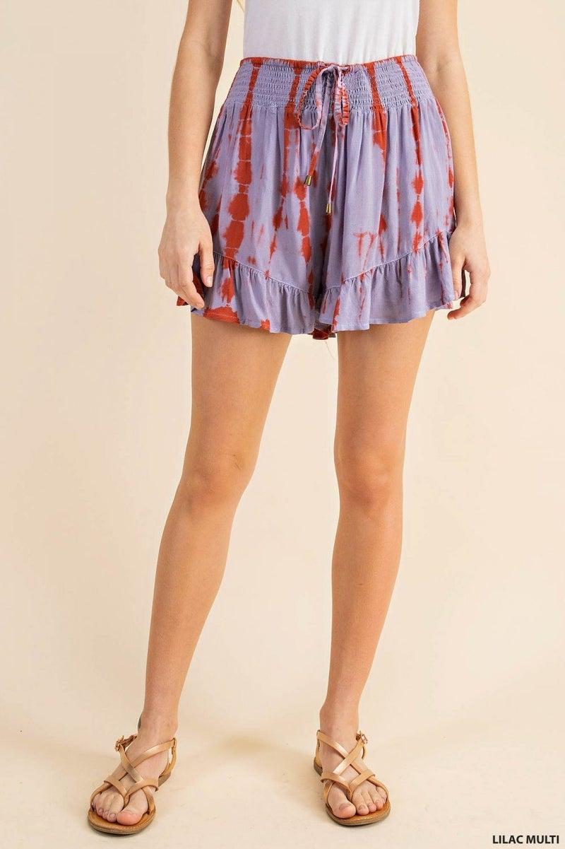 Lilac Wine Shorts