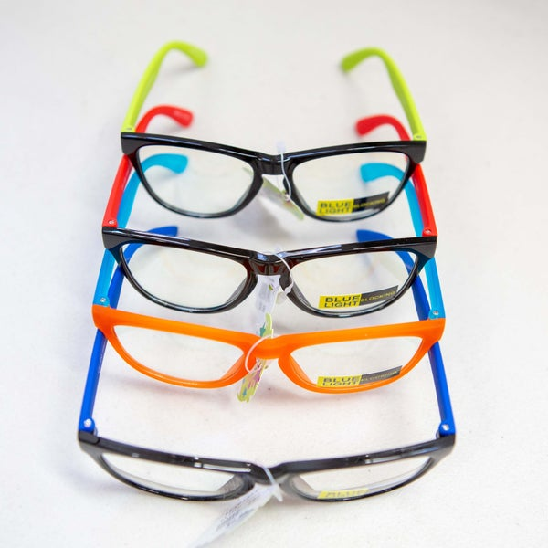 Kids Colorful Blue Light Glasses