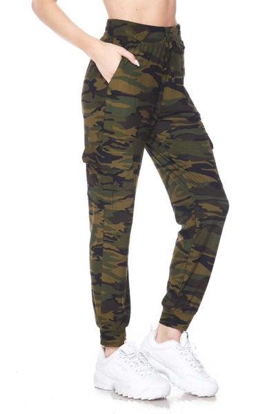 Comfy Camo Cargo Pants
