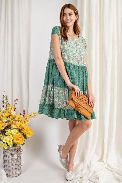 Simply Sage Dress