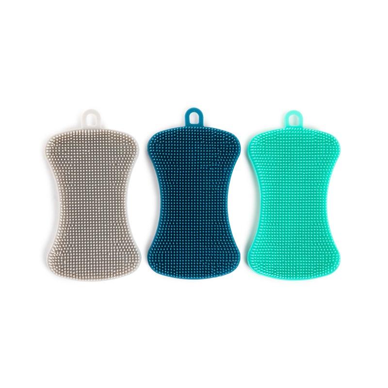 Set of 3 Infinity Silicone Sponges
