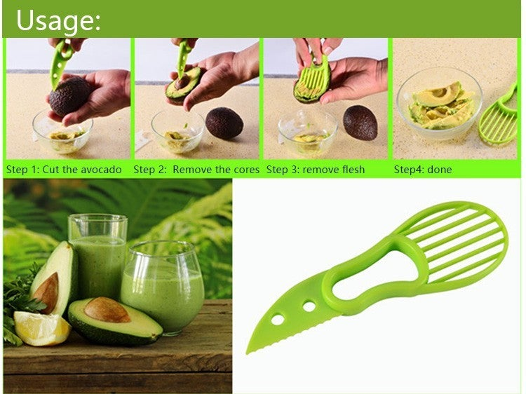 3-In-1 Avocado Slicer Tool