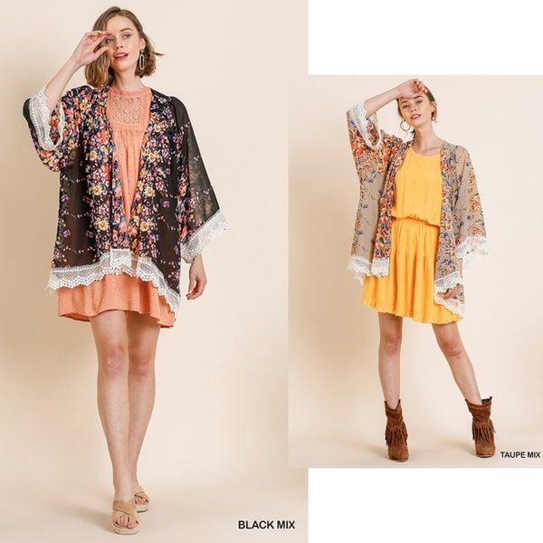 Be Mine Lacey Kimono