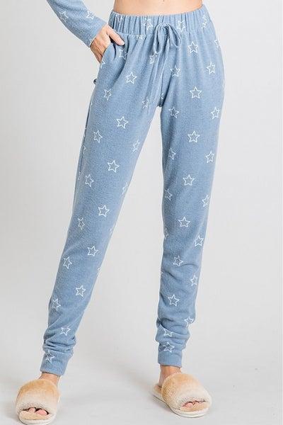 Powdered Stars Lounge Pant