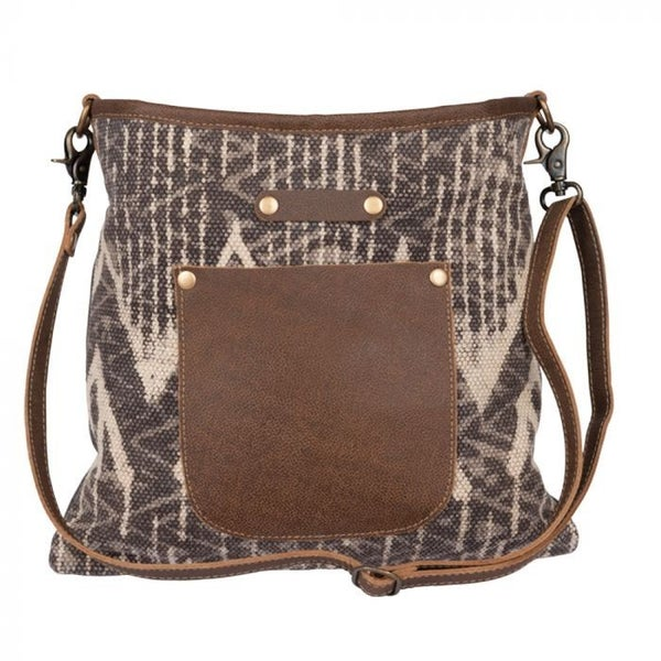 SEPIA SPLASH SHOULDER MYRA BAG