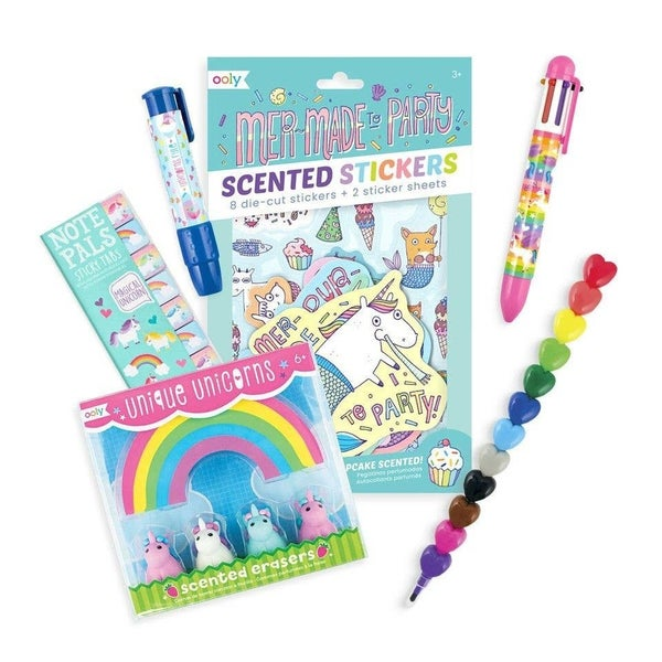 Unicorns & Mermaids Happy Pack