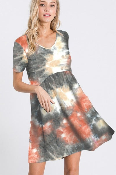 Dally Dye Dress
