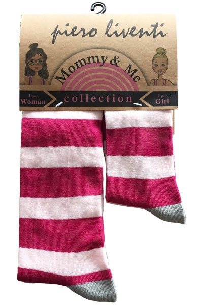 Mommy & Me, 2-Pair Rosy Magenta