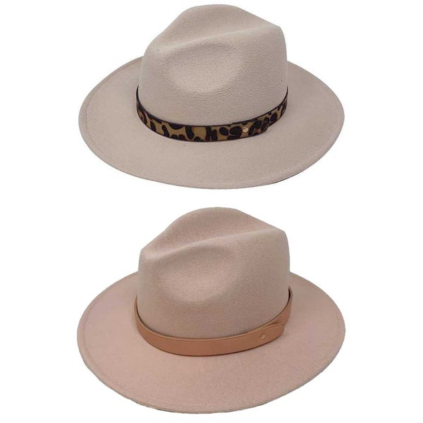 FASHION SUEDE FEDORA