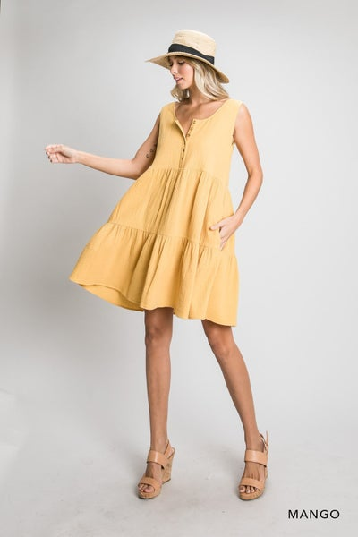 Mango Me Dress