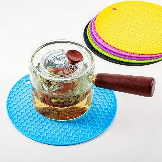 Silicone Round Hot Pad Trivet