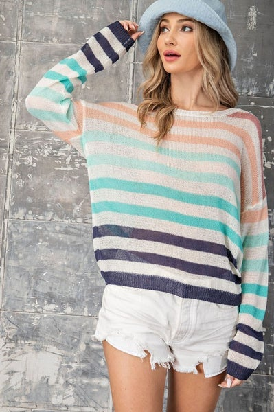 Bring It On Spring Sweater