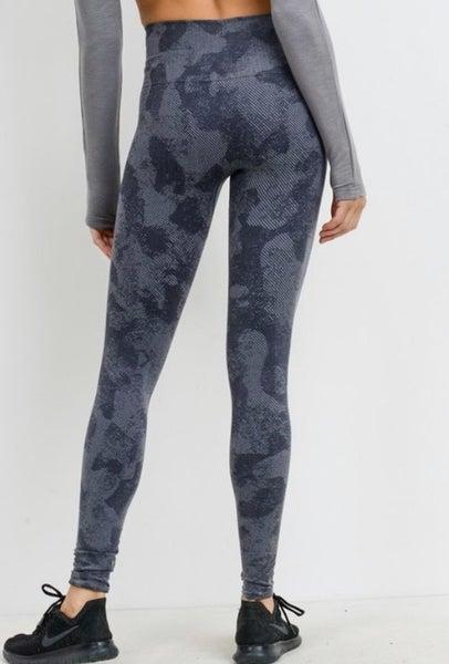 Grey Camo Leggings