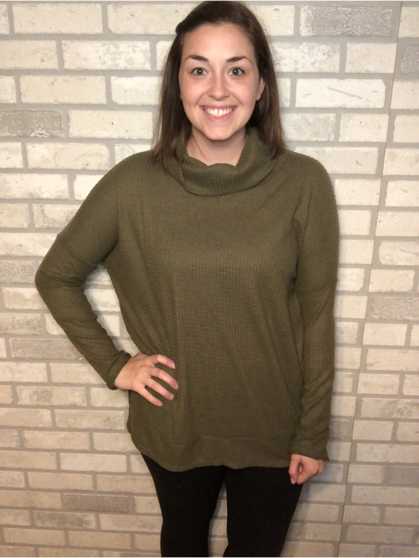 Olive Cowl Thermal