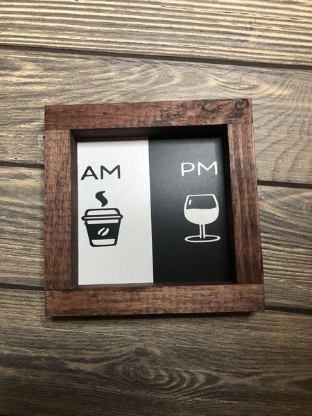 Coffee & Wine Sign