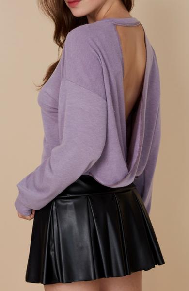 Violet Fields Sweater