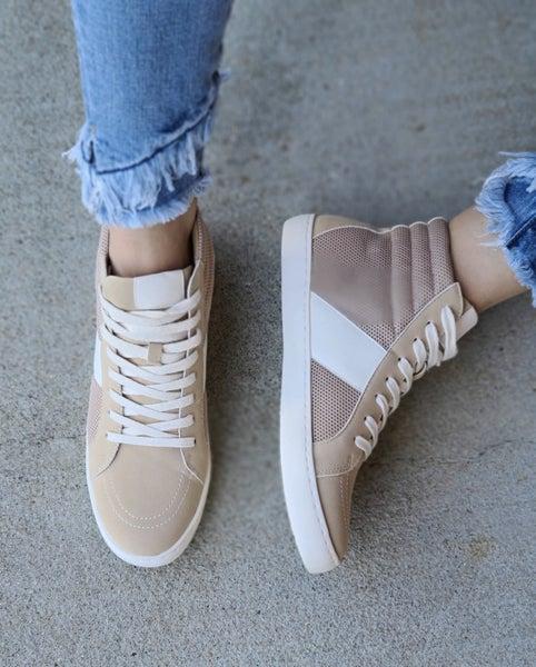 SALE / Bree Hightop Sneaker