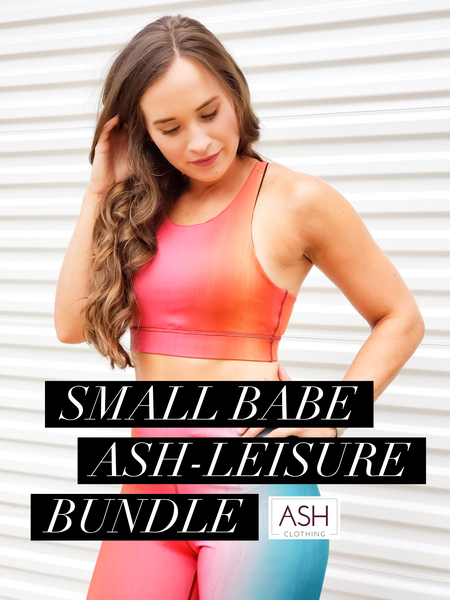 SMALL BABE Ash-leisure Bundle