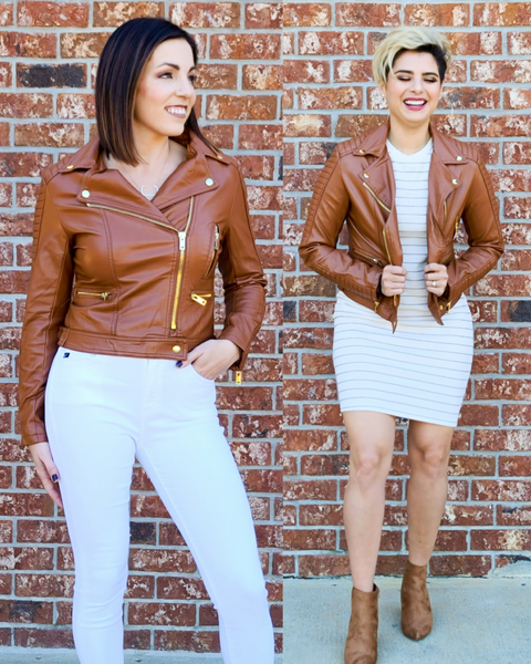 SALE / Sidecar Leather Jacket