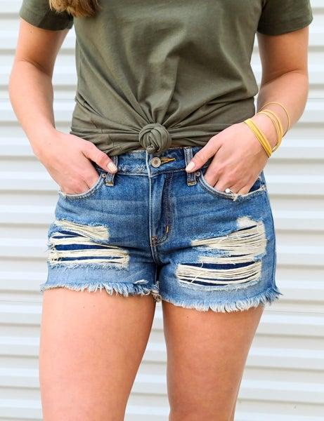 Hazel Boyfriend Fit Shorts