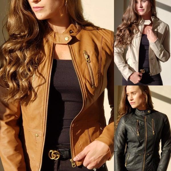 SALE / Hayden Leather Jacket