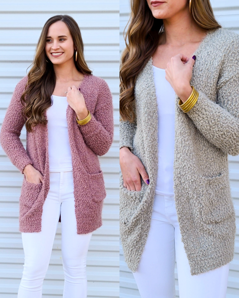SALE // Cozy Cuddly Cardigan