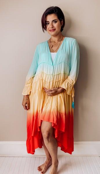 Bohemian Rainbow Dress