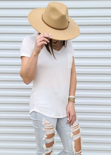 Spring Wide Brim Hat