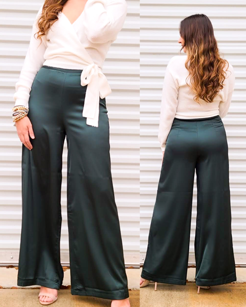 Emerald With Envy Pants